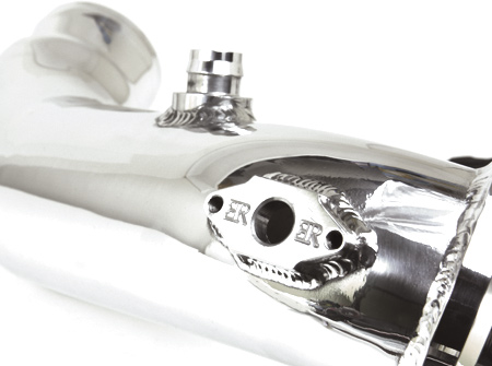 Evolution Racewerks (ER) N55 charge pipe E chassis for the F30/F32/F22/F33. Fits M235, 335 and 435
