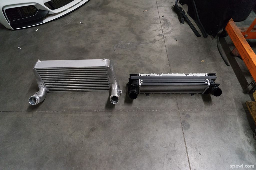 Competition Series Front Mount Intercooler (N20 Engine) |