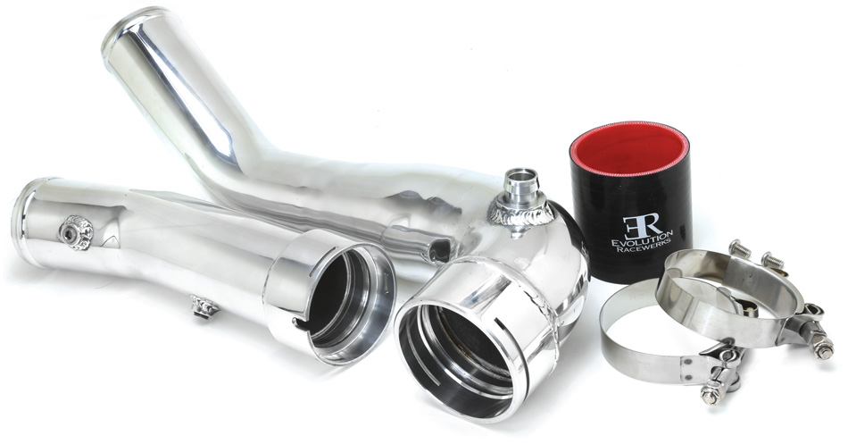 Evolution Racewerks N20/N26 charge pipe F chassis BMW. ER CP for the 2012 2013 2014 2015 228 328 428