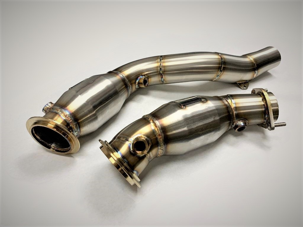 Sports Series High Flow Catted Downpipes M3/M4 S55 Engine |
