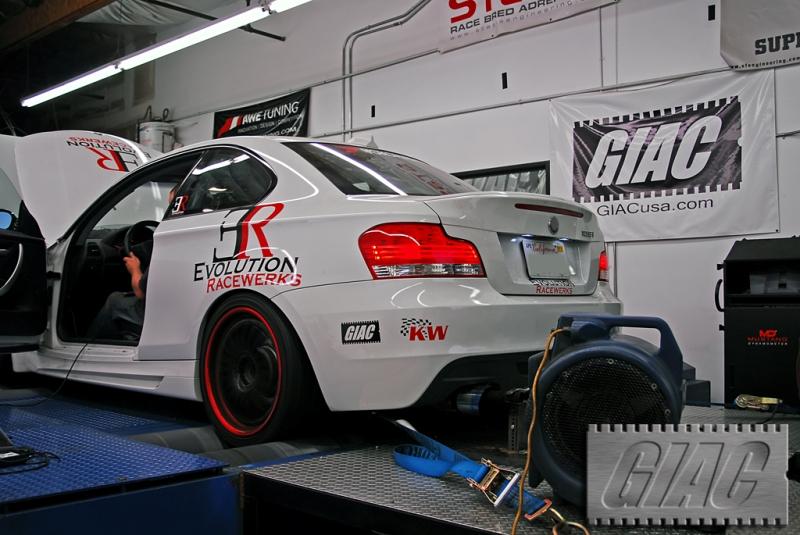 Evolution Racewerks 135i makes 439whp and 469wtq!!!  